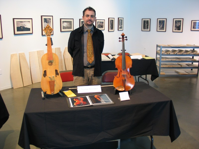 Violin making exhibition