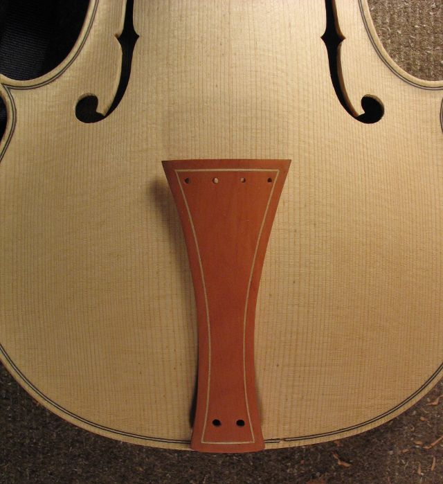 Baroque fitting tailpiece