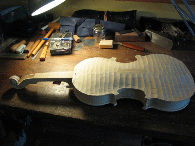 Baroque Brothers Amati viola making