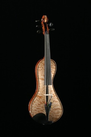 5 strings electro-acoustic violin
