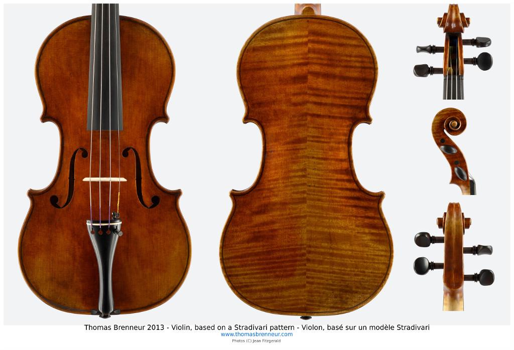 Violin stradivari model Vibeline